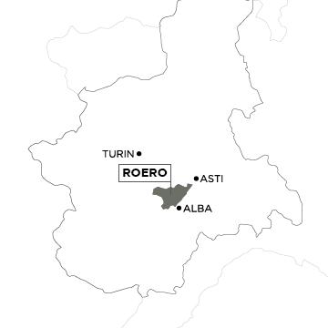 Piemont Weinbau Karte.Piemont Roero